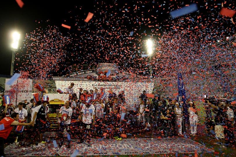San Lorenzo campeón en la última fecha. Foto: LA NACION / Emiliano Lasalvia