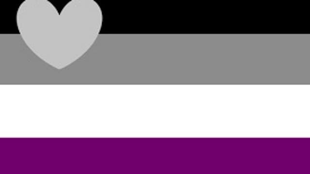 Negro, gris, blanco y lila, los colores elegidos
