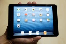 Un iPad Mini de Apple. Se vende con conexión a redes LTE