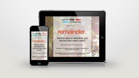 Remainder, una iniciativa que comenzó como una broma, y que ya se posiciona como un lugar de encuentro para los votantes en contra del Brexit