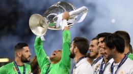 Navas conquistó la Liga de Campeones con el Real Madrid.