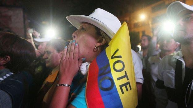 El plebiscito del acuerdo de paz en Colombia fue una de las votaciones en las que Freedom House vio interferencia en la opinión pública