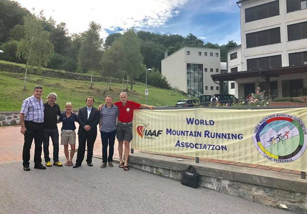 Soto y Zarba en Italia junto con los miembros de la WMRA