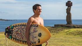 """Aunque la isla pertenece a Chile, los isleños ven a la Polinesia como su """"gran hermana"""""""