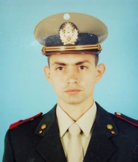 El gendarme Gustavo Gómez estaba casado y tenía dos hijos