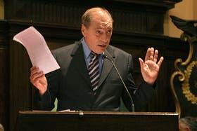 El juez de la Corte Raúl Zaffaroni se mostró en contra de la reincidencia