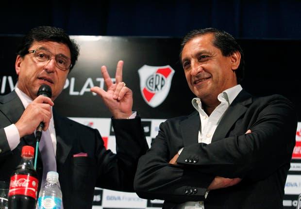 Ramón y Passarella, en la presentación