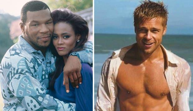 Tyson, Givens y Pitt, un triángulo amoroso de película