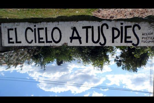 Acción Poética Tucumán. Foto: Facebook