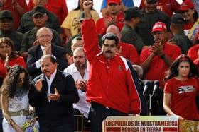 Maduro hablo a sus seguidores sobre la elección del nuevo Papa sudamericano