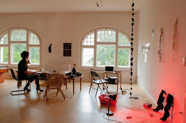 Admiradora de la educación alemana, Celina González Sueyro está haciendo una residencia en Berlín
