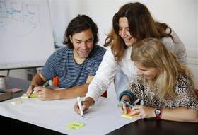 Pablo Genovesio e Inés Borghi trabajaron en los puntos débiles de la relación con su coach, Laura Rejo