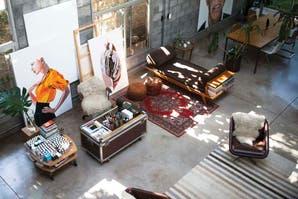 Deco: una casa arty, atrevida y selvática