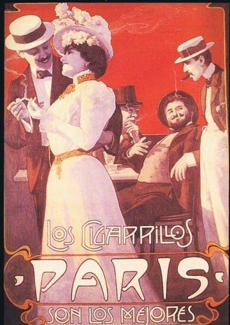 Cigarrillos París: ya es parte de la historia de la publicidad