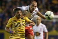Boca-Huracán: un empate sin goles y con la cabeza puesta en la Copa