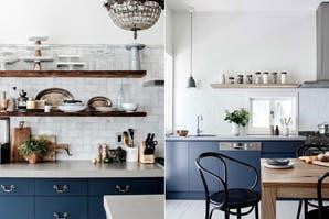 Propuestas para una cocina colorida