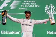 Hamilton ganó el GP de Canadá y acecha a Rosberg