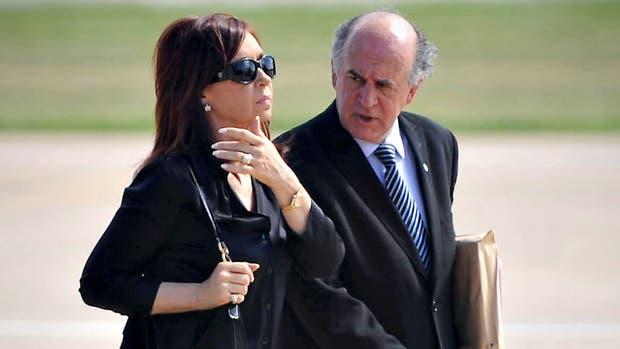 Cristina y Parrilli