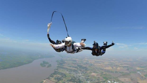 El hombre tenía más de veinte años de experiencia en paracaidismo