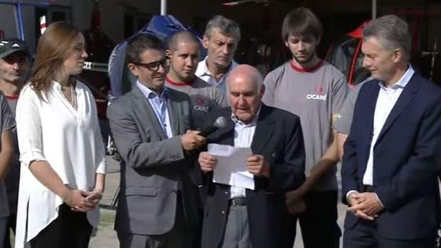 Macri y Vidal, en Saladillo