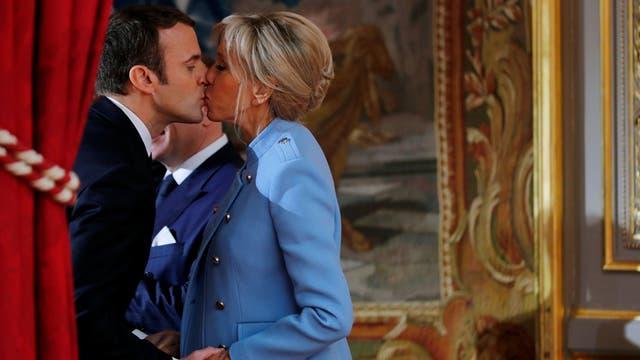 Los franceses no quieren a Brigitte Macron como primera dama