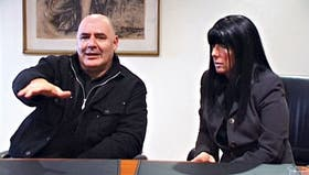 Pontaquarto y Montero, durante la nota con el diario Río Negro