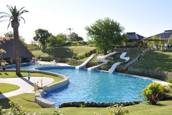 Un parque acuático de 40 hectáreas alberga piletas termales a sólo 3 kilómetros de Victoria. Foto: Gentileza Victoria del Agua