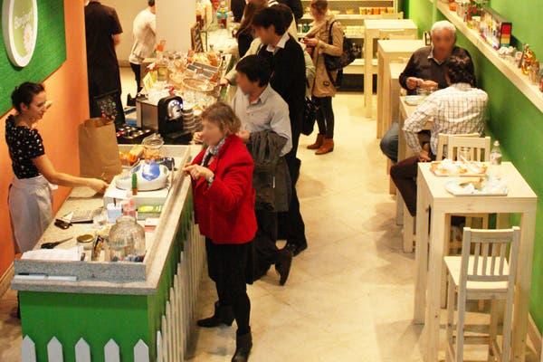 Este lugar es ideal para los amantes de las buenas ensaladas. Foto: Gentileza Bonjour! natural bar