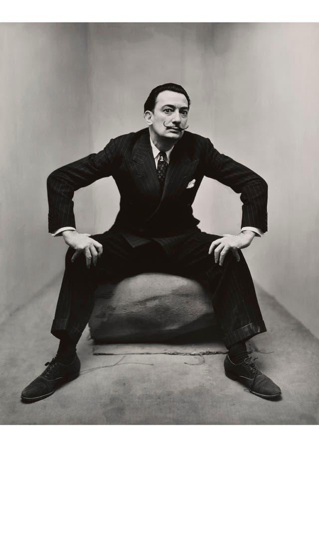 Irving Penn, Salvador Dalí