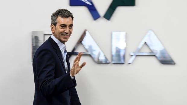 El precandidato a senador nacional por Cumplir Florencio Randazzo se reunió hoy con los directivos de la DAIA en la sede de la entidad