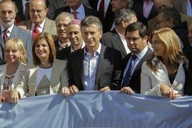"""Macri calificó a la marcha de anoche como """"la más grande de la historia"""""""