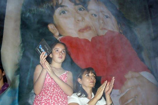 Micaela, una fiel compañera en la lucha por recuperar a su madre. Foto: Facebook / Susana Trimarco