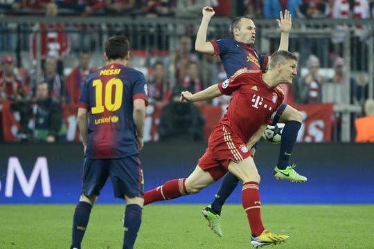 Barcelona estuvo desconocido y perdió 4 a 0. Foto: Reuters