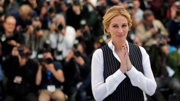 Julia Roberts en el último festival de Cannes