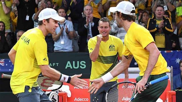 Australia quedó a un punto de la final