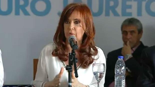Cristina Kirchner habló de la inmigración y dejó mal parado a Pichetto