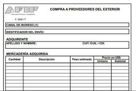 El nuevo formulario