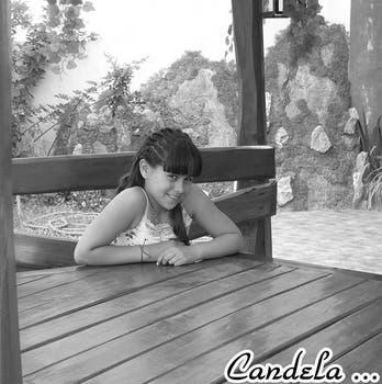 Una imagen de Candela en su muro de Facebook. Foto: Facebook