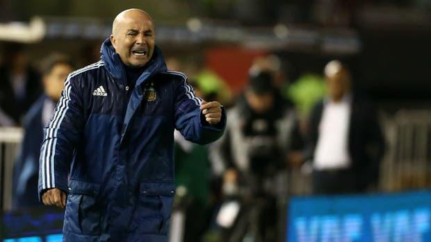 Sampaoli suma dos empates en sus dos primeras presentaciones y la Argentina sigue en repechaje
