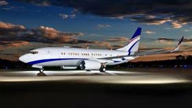 Así se ve hoy el Boeing ejecutivo que el Gobierno está cerca de adquirir por US$ 48,95 millones.