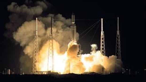 El lanzamiento de Cassini fue el 15 de octubre de 1997 en la estación de Cabo Cañaveral; entró en órbita alrededor de Saturno el 1 de julio de 2004.
