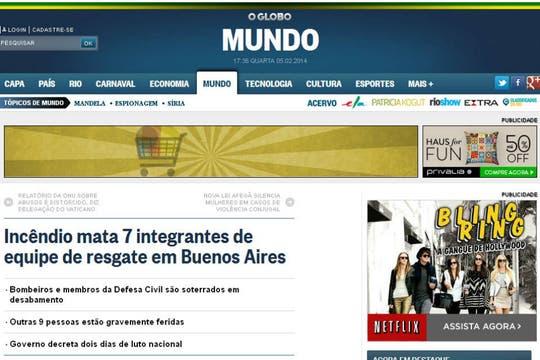 O Globo, de Brasil. Foto: Archivo