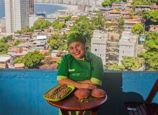La chef que revolucionó la alimentación en una favela de Río de Janeiro