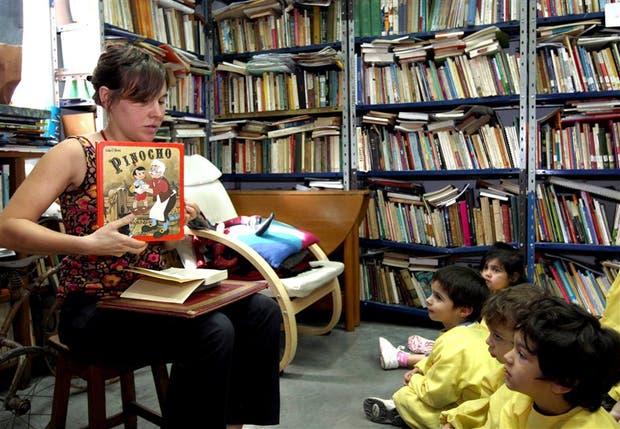 En la librería La Nube, está la biblioteca infantil más completa del país