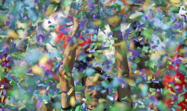 Roger Federer levantó en suelo estadounidense el trofeo número 90 de una carrera que parece no tener fin