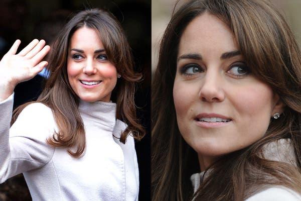 ¿Qué opinan de este ligero cambio de look? Kate Middleton se hizo un jopo hacia el costado, estilo Farrah Fawcett, que le da un aire más juvenil. Foto: Gentileza www.graziadaily.co.uk