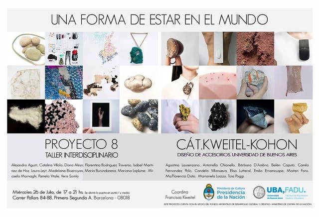 Proyectos de joyería argentina no convencional, de paso por Europa
