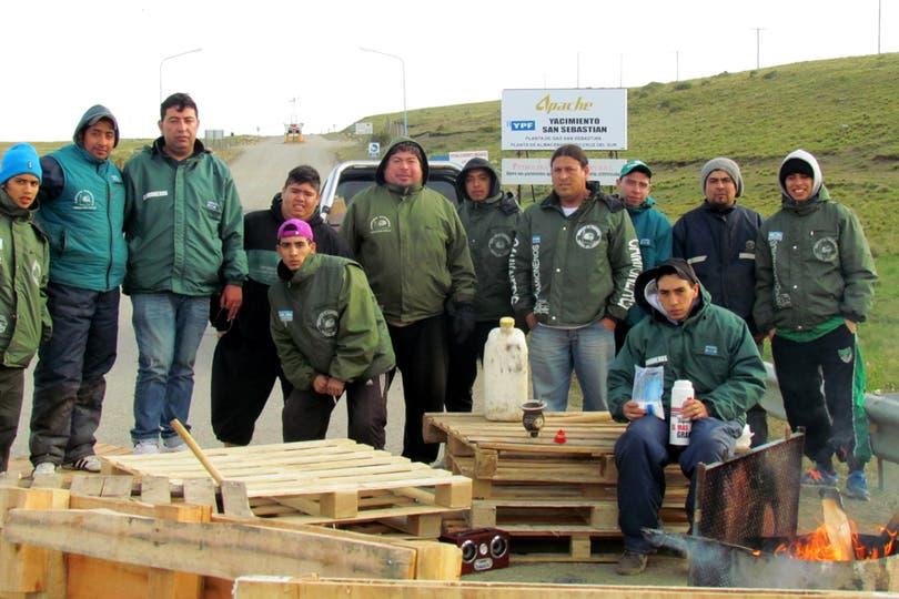 Paso fronterizo San Sebastián, Río Grande, Tierra del Fuego. Foto: DyN