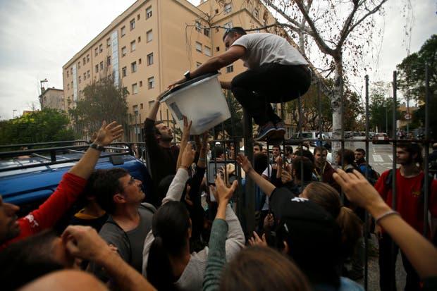 Incidentes en una escuela de Girona