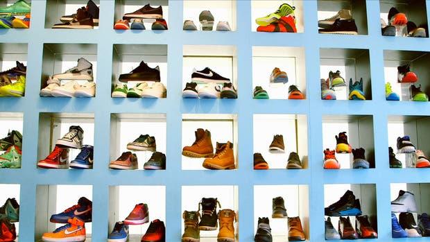 Una de las imágenes del documental Sneakershead